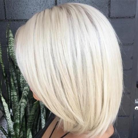 17-Blonde mittel lange haare