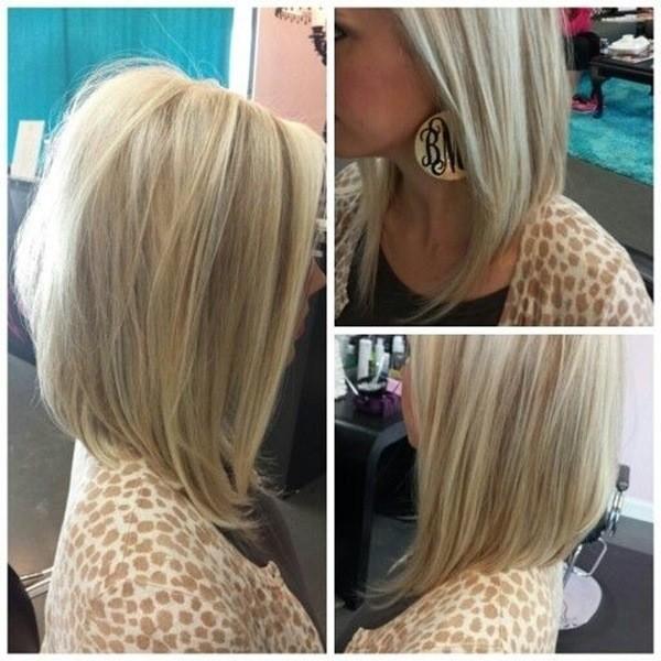 Platinum Lob Haarschnitt für Frauen
