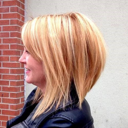 9.Spicy ginger & blonde aktualisiert long bob