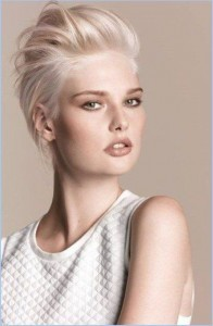 6- Frisuren Trends 2017 - Blonde Spikey Pixie