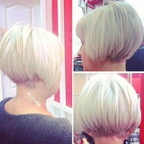 8-Mittellang Bob Haarschnitt für Frauen ab 50