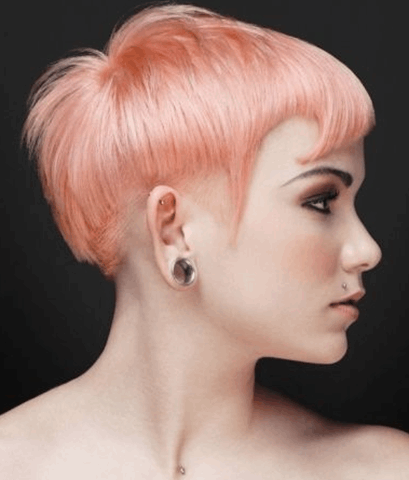 25-Edgy Pink Pixie