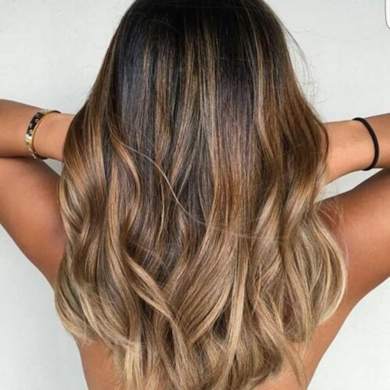 Bronde Haar