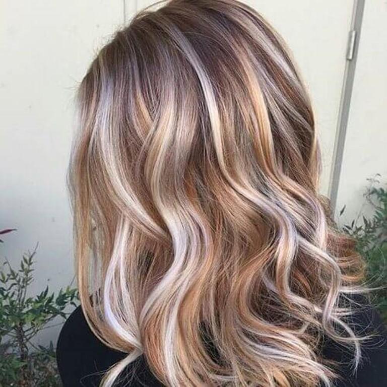 Haare blond braun bilder