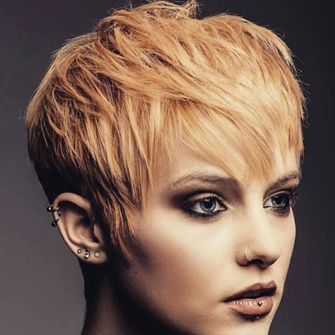 caramel-orange-pixie-mit bangs