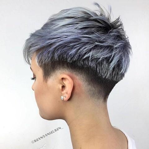 sidecut mit grau farben