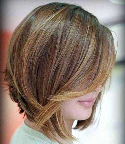 6-Kurze Frisur für Feines Haar