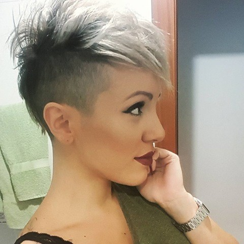 sidecut haare
