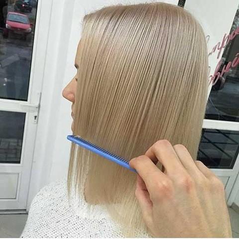 9-Kurze Blonde Feine Haare