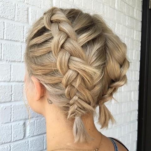 kurze haare flechten se hair styles sind ein traum