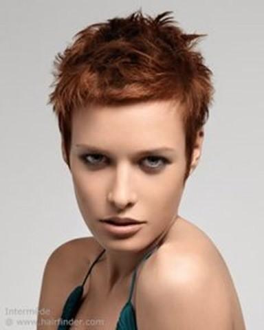 Kupfer-Farbigen Frisuren