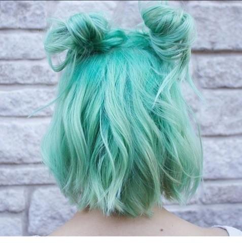 Turkis Blau Haarfarben Sommer 2017