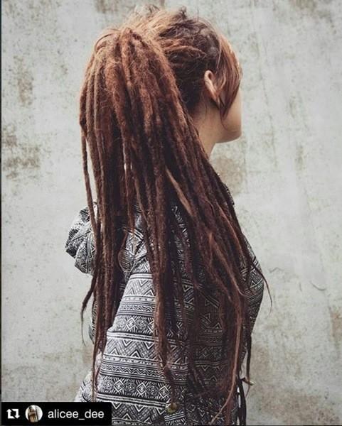 Dreads für Lange Haare
