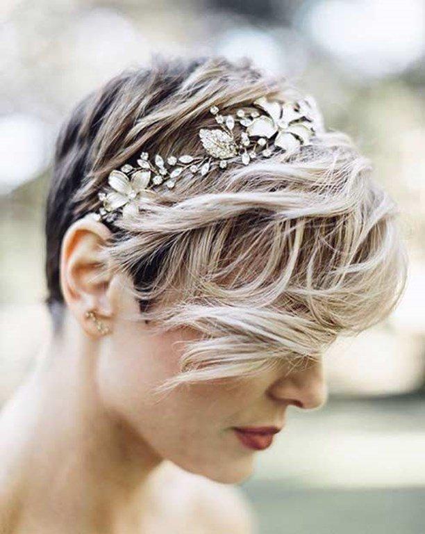 Brautfrisur Für Kurze Haare