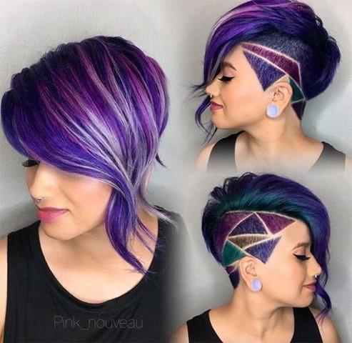 Kurze Frisuren Haare Tattoo