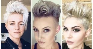Frisurentrends im Sommer 2017: Lila, Blond und Punk