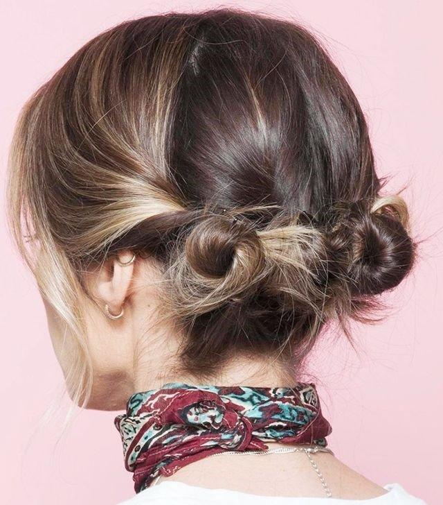 Dutt Für Kurzes Haar-Modell