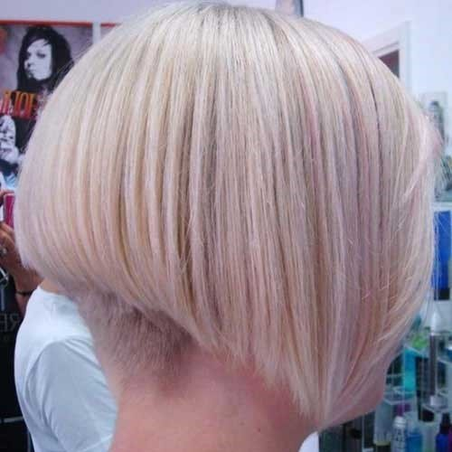 6. Blonde Bob Haarschnitt Hinterkopf