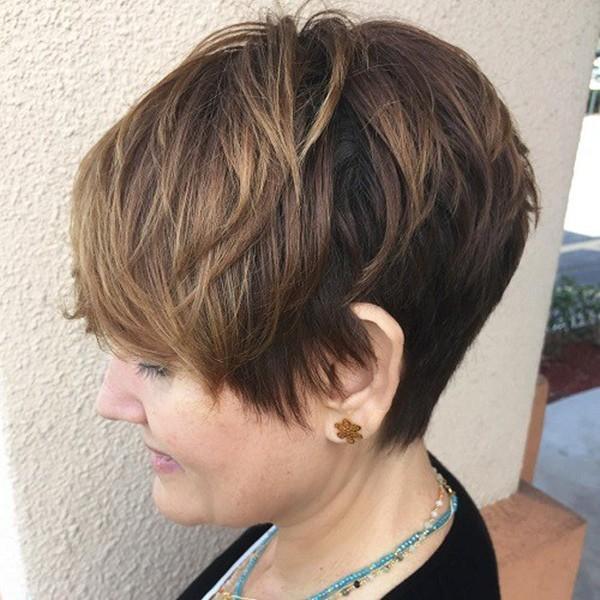 4-Pixie für dünnes haar