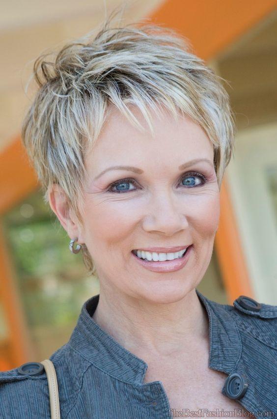 4-kurze Frisuren für ältere Frauen