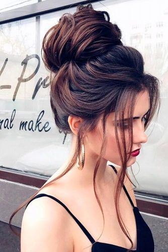 3-Messy Dutt Für Lange Haare-Modell