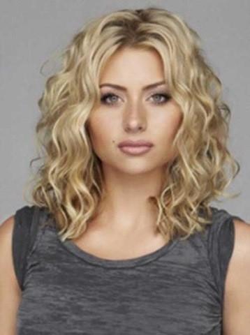 35 Mittlerer Länge Frisuren für Lockige Haare