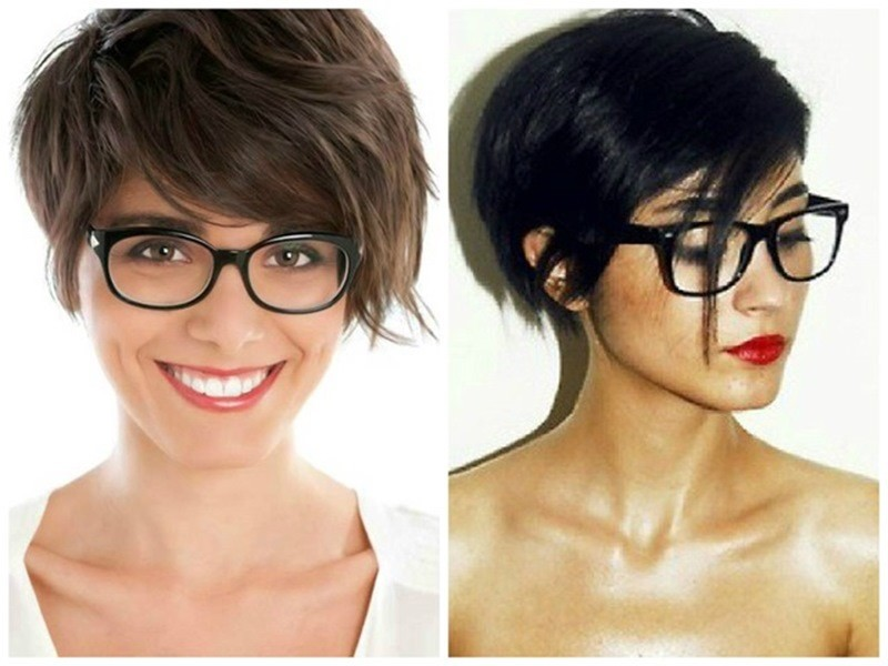 Image Result For Hairstyles For Short Straight Hair With Glasses
