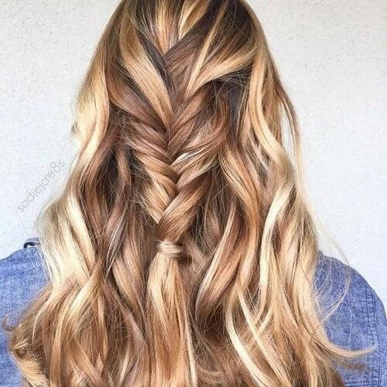 23 Braune Haare Mit Blonden Str 228 Hnen Und Lowlights Haare Co