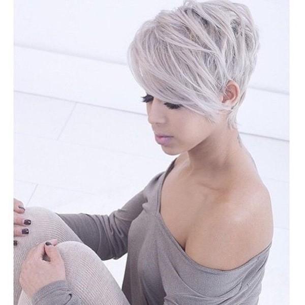 15 Super-Trend grau Frisuren 2021 - Haare.CO