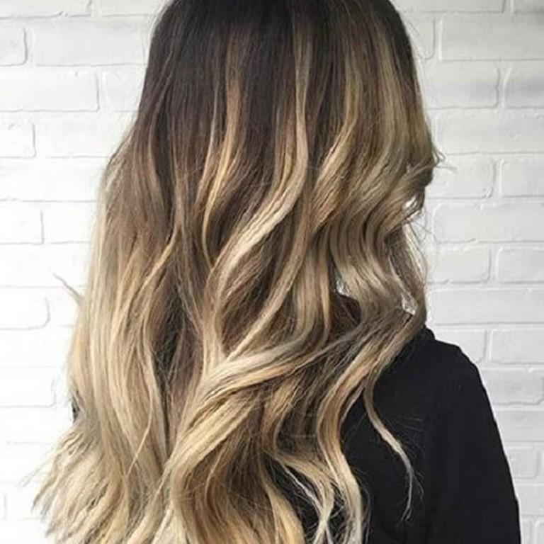 7 Braun Und Blond Balayage Haare Co