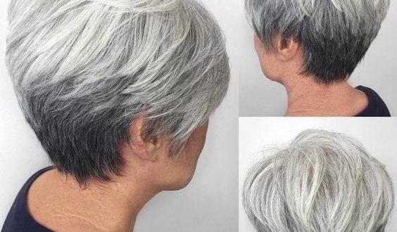 2019 Hairstyles For Over 50s: Kurzhaarfrisuren Für ältere Damen Sind Modern Und Trendy