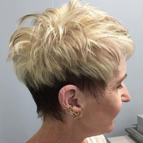 braun-und-blond-pixie-für-frauen